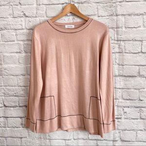 Calvin Klein Blush Pink Sweater